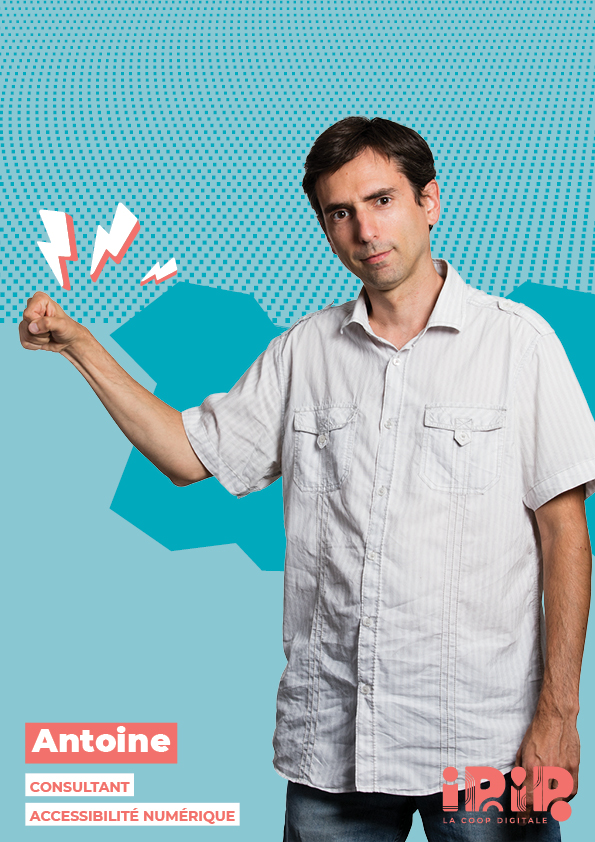 Antoine BOUET, Consultant accessibilité numérique